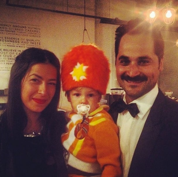 The Minkoff family became the Addams family for a night. Source: Instagram user rebeccaminkoff