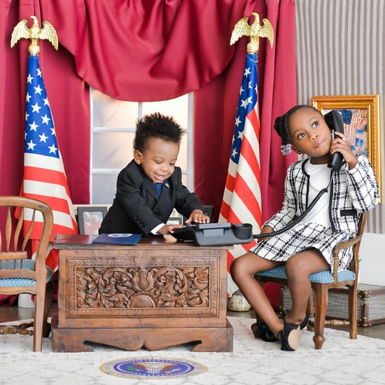 Adorable Presidential Photo Shoot With Kids