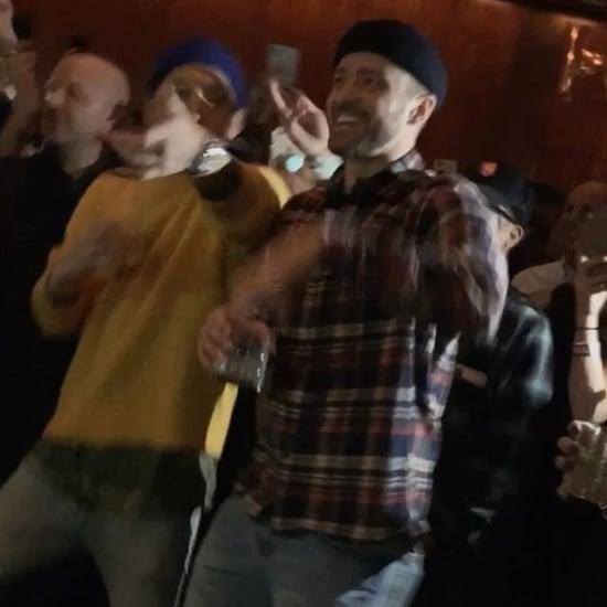 Mase Surprises Justin Timberlake on His Birthday 2019