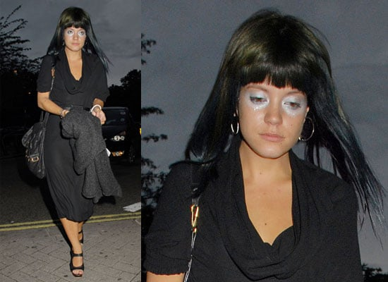 Photos of Lily Allen and Miquita Oliver