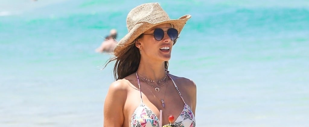 Alessandra Ambrosio's Sexy Bikini Has Us Dreaming of a Beach Day (Not a Snow Day)