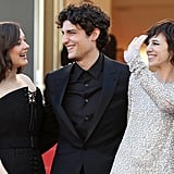 Marion Cotillard, Louis Garrel, and Charlotte Gainsbourg