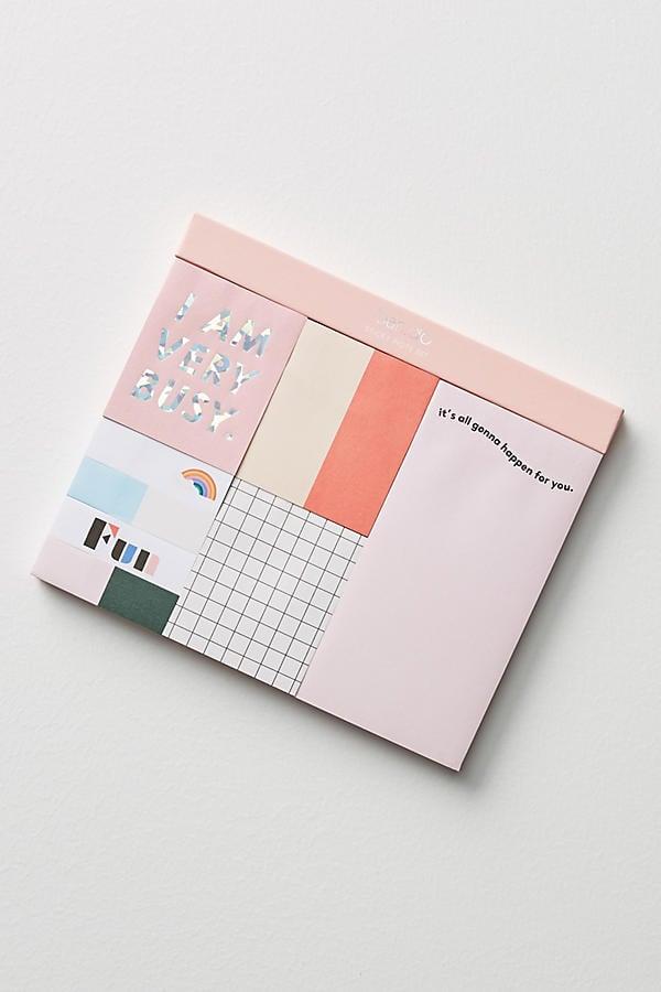 I Am Very Busy Sticky Note Set ($12)