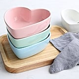 Stock Show Heart-Shape Ceramic Bowls