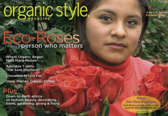 Nice and New: Organic Style Magazine Now Online
