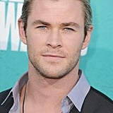 Chris Hemsworth arrived on the red carpet.