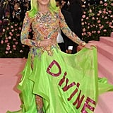 Donatella Versace at the 2019 Met Gala