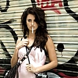 Penélope had a sexy role in 2008's Vicky Cristina Barcelona.