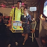 Miss Frizzle and The Magic School Bus