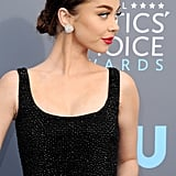 Sarah Hyland's Hair at the 2018 Critics' Choice Awards