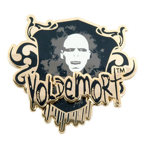Voldemort Glow in the Dark Pin ($13)