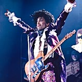 The star went full Purple Rain for a performance in New York City in January 1990.