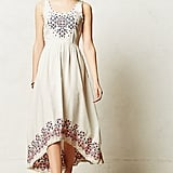 Anthropologie embroidered dress ($90)