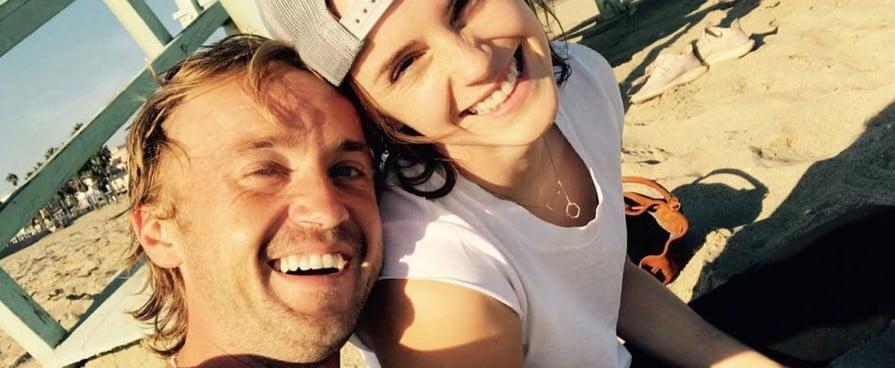 Emma Watson Tom Felton Reunion 2018