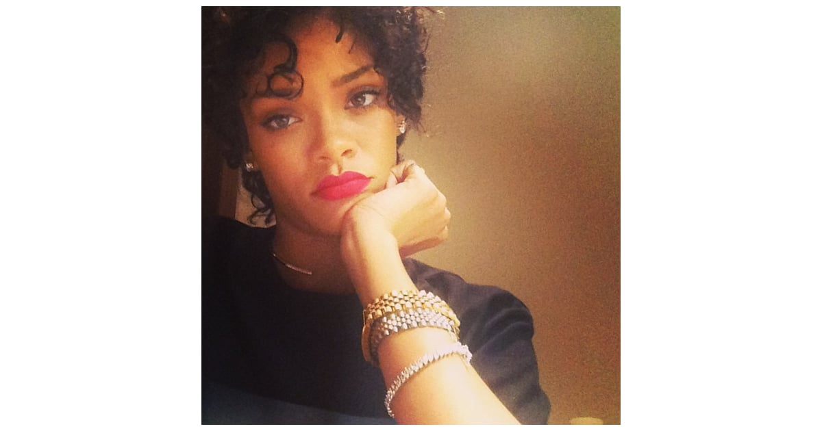 Rihanna With Short Hair Pictures Popsugar Beauty