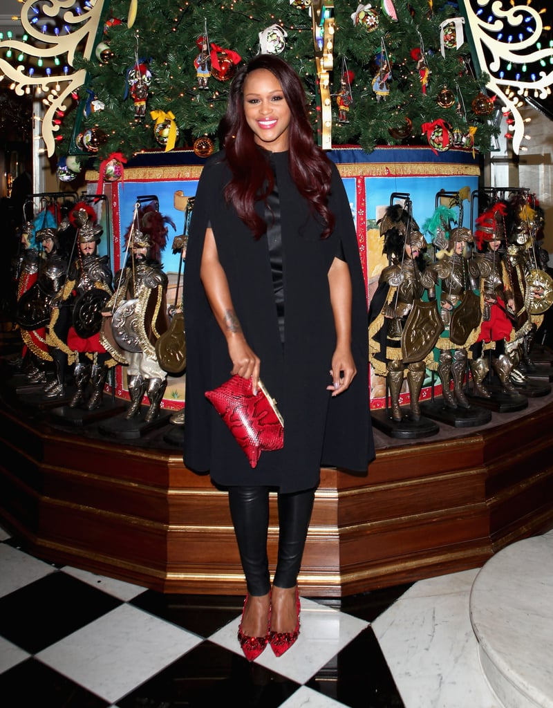 Eve at Claridge's party for its Dolce & Gabbana Christmas Tree in London.