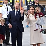 The Royal Family During Their Canada Tour