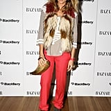 Pip Edwards at a Harper's Bazaar party in 2010