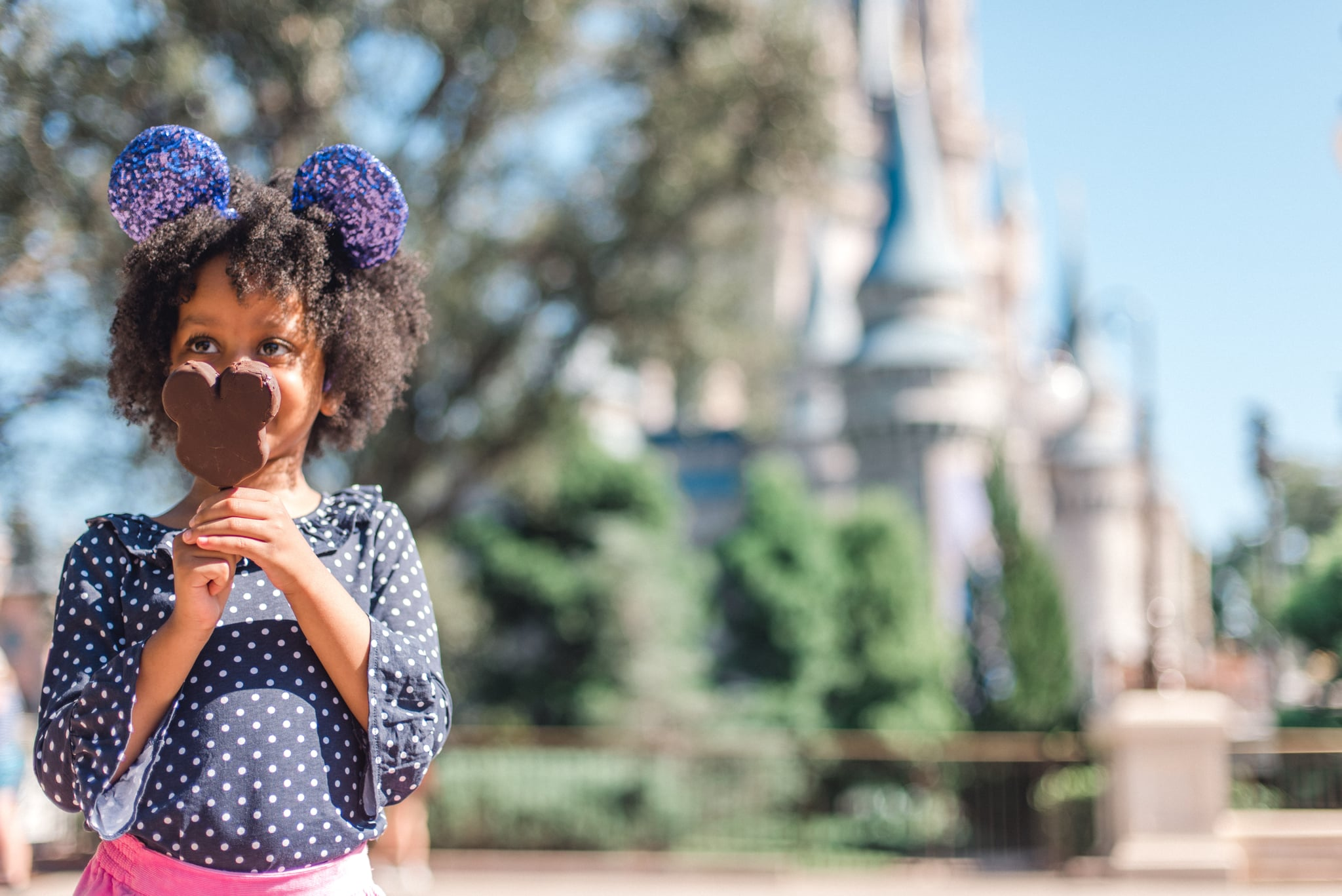 The magic is real for little ones as they visit Magic Kingdom Park for the very first time. From that first glimpse of Cinderella Castle to hugs with favorite Disney characters to exploring attractions and sampling Mickey Mouse-shaped treats, visiting Walt Disney World Resort in Lake Buena Vista, Fla., is a vacation of choice for young families. (Claire Celeste, photographer)