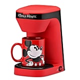 Disney Mickey Mouse One-Cup Coffee Maker With Mug