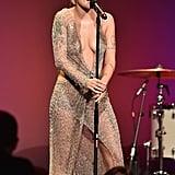 Halsey at the 2018 amfAR Gala