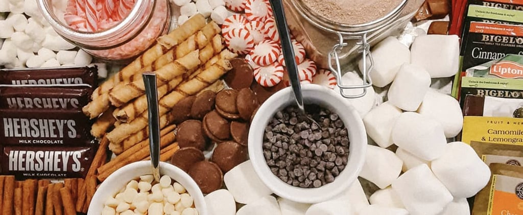 Hot Chocolate Charcuterie Board Ideas