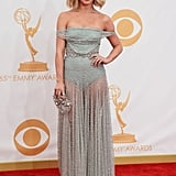 Julianne Hough walked the Emmys red carpet.