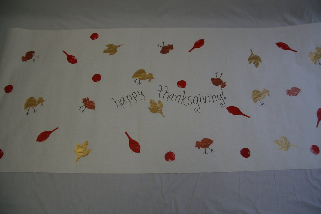 Kidoodles: Thanksgiving Tablecloth