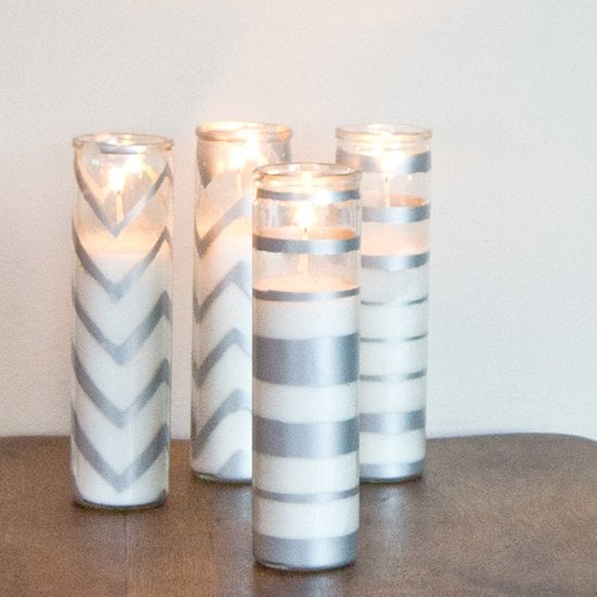 DIY Sparkling Candles
