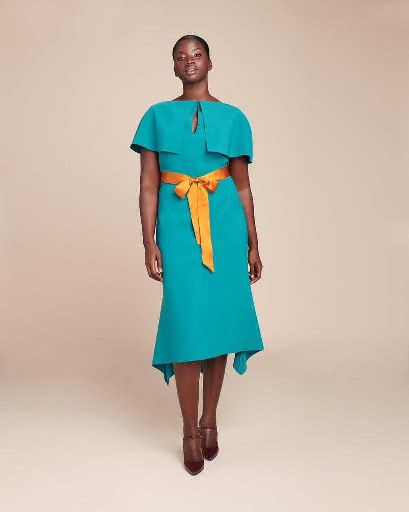 Reem Acra Crepe Swing Hem Dress | Fall Wedding Guest Dresses ...