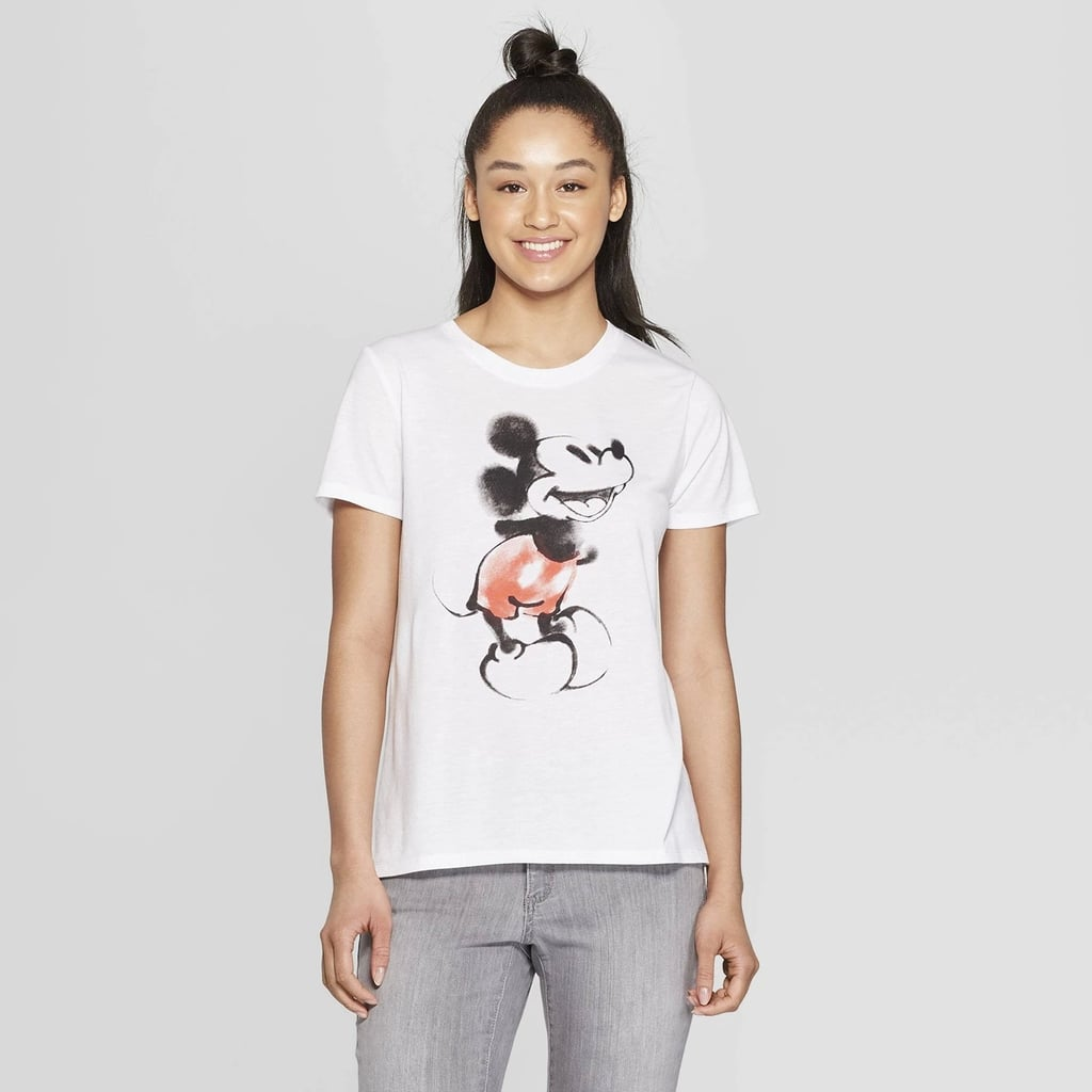 Disney Short Sleeve Mickey Mouse Graphic T-Shirt