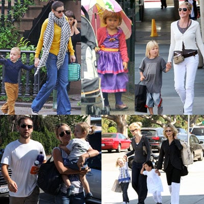 Celebrities and Their Babies Over the Weekend 2008-09-29 15:05:01
