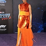 Her Dress, Her Date, Her Hair — Everything About This Zoe Saldana Look Is Mesmerizing