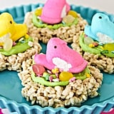Peeps Marshmallow Treats Nests