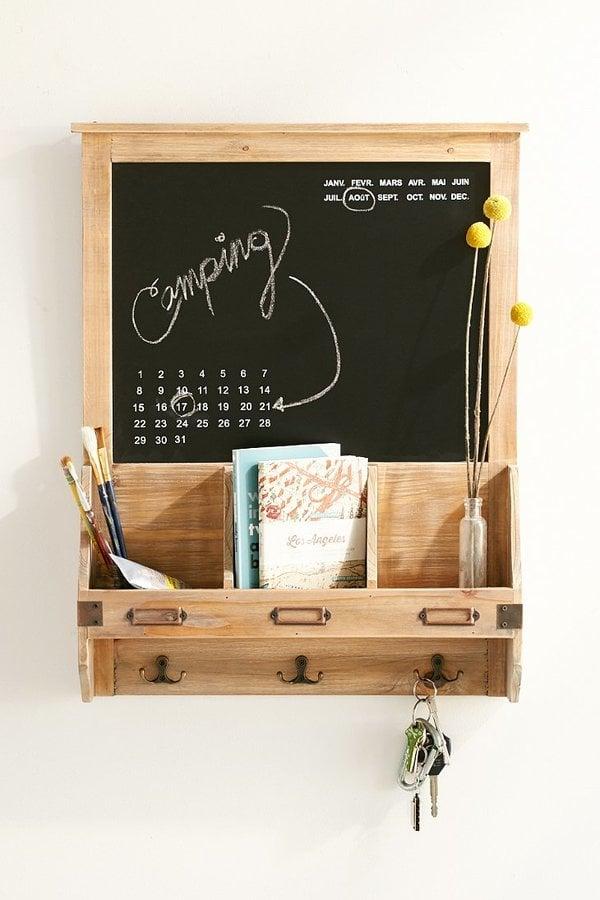 Reclaimed Wood Chalkboard ($49)