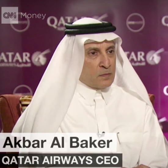 Qatar Airways CEO Says Trump's Device Ban is a Waste of Time
