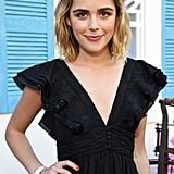 Kiernan Shipka at the Zoe Report's ZOEasis in 2019