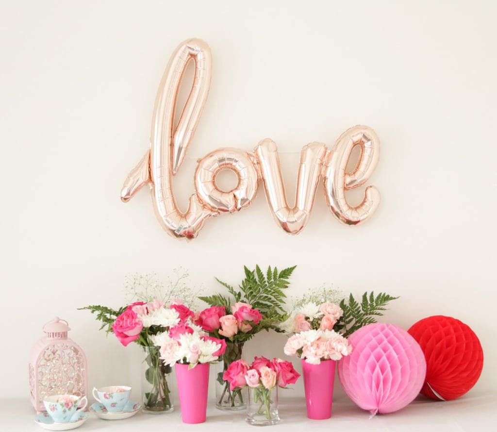 Cheap letter balloons : Boho tapestry