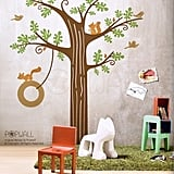 Animal Friends in Woodland Decal ($98)