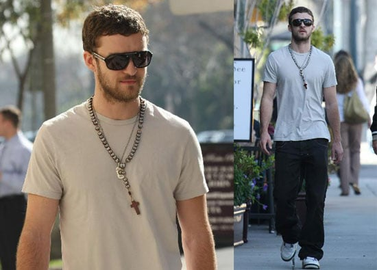 Justin Timberlake Out in LA 2008-02-14 15:00:41