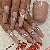 Cardi B's Swarovski Encrusted Nail Art