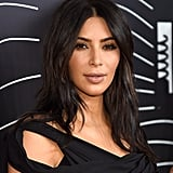 You have: lightly wavy hair like Kim Kardashian.  At the salon, ask for: an emphasized version of your natural texture. How to DIY it at home: Air-drying (with a little bit of help) is your key to sexy strands. Appleton recommends spritzing Tigi Catwalk Texturizing Salt Spray ($21) on wet hair, then twisting one-inch sections and leaving them to air-dry, which will accentuate your hair's natural movement. Once your hair is fully dry, use a straightening iron in up and down movements on the sections, emphasizing the bedhead texture. Finish with a glossing spray or oil, tousling your hair with your fingers for added dimension.