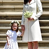 Princess Charlotte and Kate Middleton
