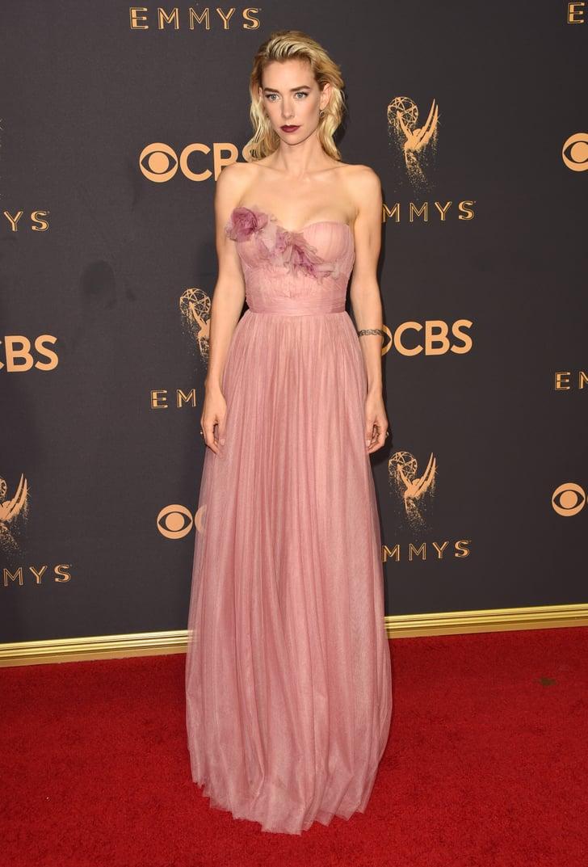 Vanessa Kirby Emmys Red Carpet Dresses 2017 Popsugar