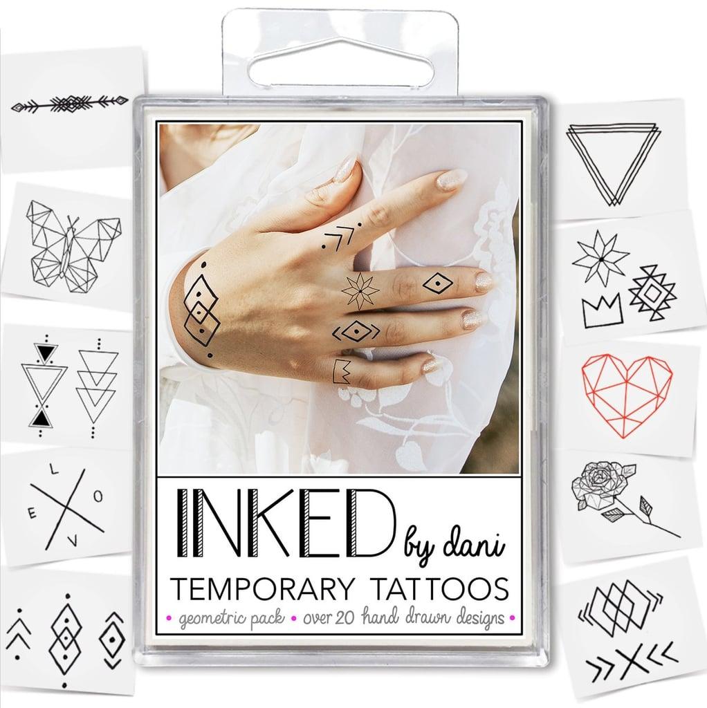 Inked by Dani Geometric Tattoo Set