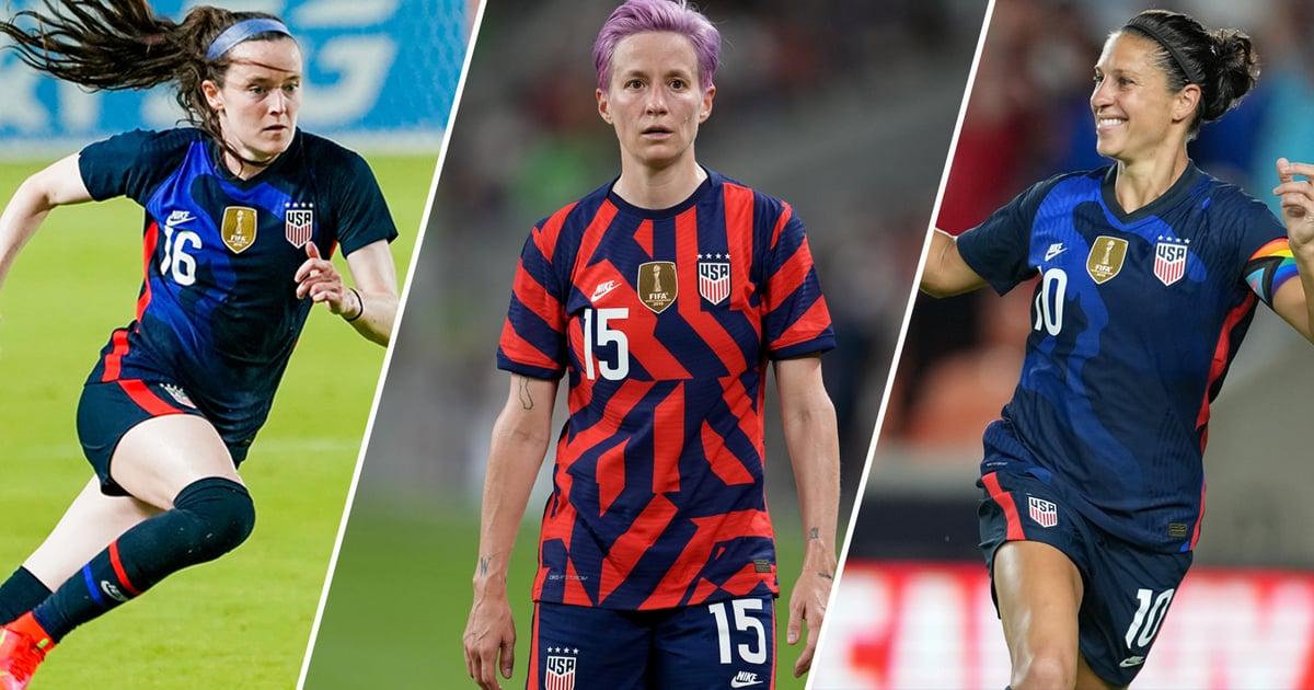 Meet The 2021 Us Olympic Women S Soccer Team Popsugar Fitness