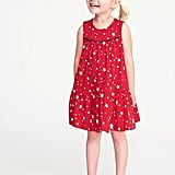 Old Navy Americana Tiered Swing Dress