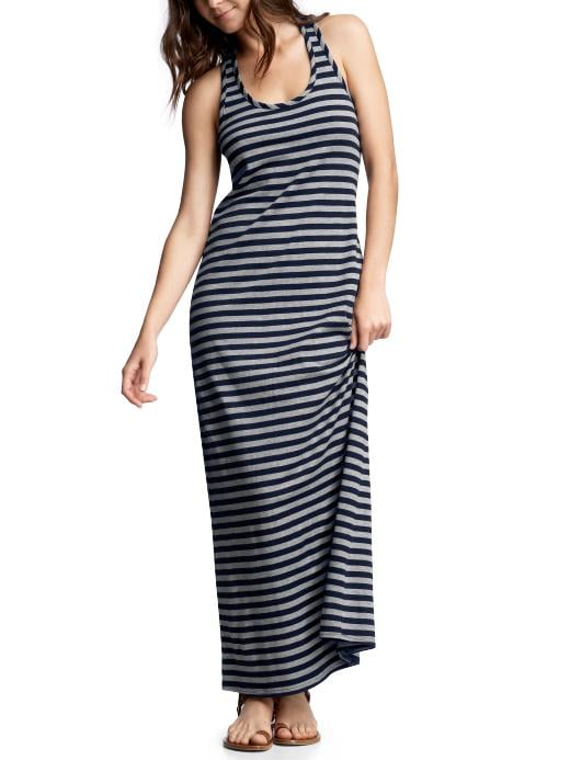 Gap Striped Long Racerback Dress