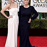 Jamie Lee Curtis brought her daughter, Annie Guest, as her date to the Golden Globes.