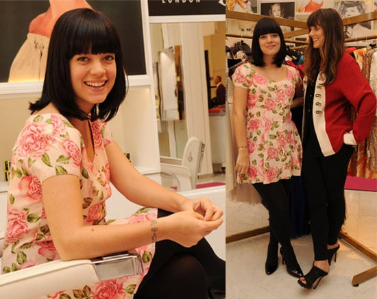 Pregnant Lily Allen launches her pop-up shop Lucy In ...